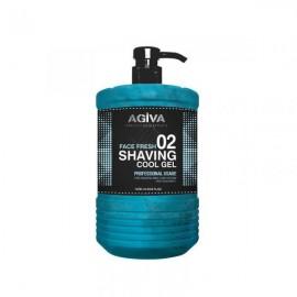 Agiva Face Fresh 02 Shaving Cool Gel 1000ml