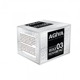 Agiva Hairpigment Color Wax 03 Λευκό 120ml