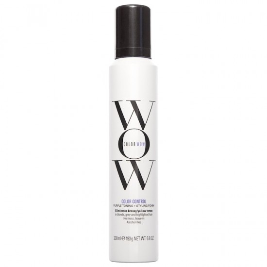 COLOR WOW Color Control - Toning + Styling Foam για Ξανθά μαλλιά 200ml