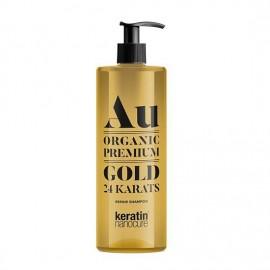 Keratin Nanocure Au Gold 24ct Shampoo 500ml