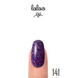 Laloo Ημιμόνιμο No.141 Μωβ Glitter Ολογραφικό 15ml