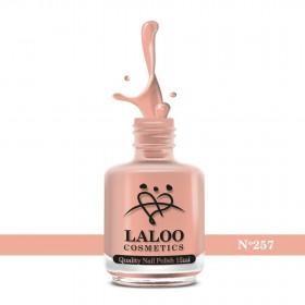 Laloo Βερνίκι No.257 Σομόν 15ml