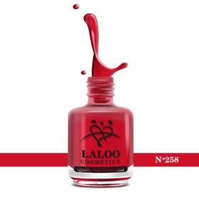 Laloo Βερνίκι No.258 Κόκκινο 15ml