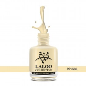 Laloo Βερνίκι No.356 Κίτρινο Παστέλ 15ml