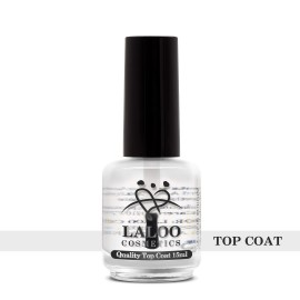 Laloo Nail Polish Top Coat 15ml