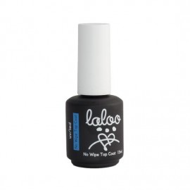 Laloo No Wipe Top Coat 15ml