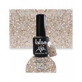 Laloo Ημιμόνιμο No.140 Μπρονζέ Glitter (χοντρή πούλια) 15ml