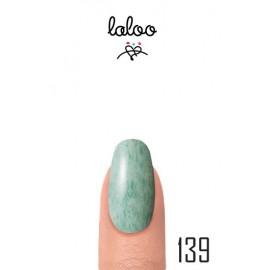 Laloo Ημιμόνιμο No.139 Εφέ μαρμάρου Πράσινο παλ 15ml