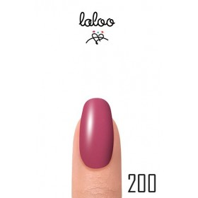 Laloo Ημιμόνιμο No.200 Ροζ Έντονο 15ml