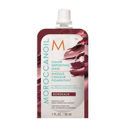 Moroccanoil Bordeaux Color Depositing Mask 30ml