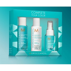 Moroccanoil Complete Your Color Set (shampoo 70ml, conditioner 70ml, spray 50ml)