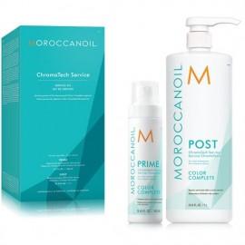 Moroccanoil Color Complete ChromaTech Service Salon Kit (Prime 160ml+Post 1000ml)