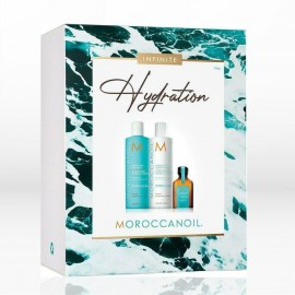 Moroccanoil Infinite Hydration Spring Kit 2021 (Shampoo 250ml, Conditioner 250ml, Oil Treatment 25ml)
