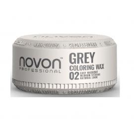 Novon Professional Coloring Wax 02 GREY 100ml