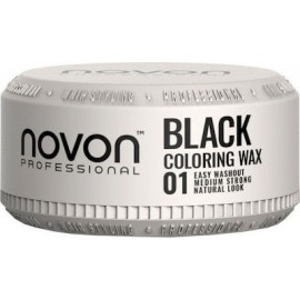 Novon Professional Coloring Wax 01 BLACK 100ml