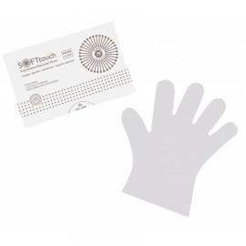 Γάντια διαφανή μιας χρήσεως Large