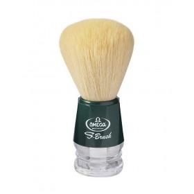 Omega s10018 Πινέλο Ξυρίσματος Συνθετικό Πράσινο