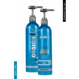 OSSION Fresh A Day Shaving Gel  3-in-1 700ml