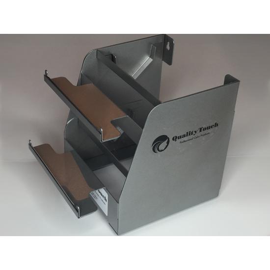 Quality Touch Διπλή Βάση για Foils Ασημί