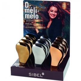Sibel D-Meli-Melo Chrome Hair Brush Pearl 12αδα