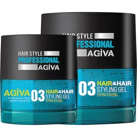 Agiva Hair & Hair Styling Gel 03 Extra Strong 700ml