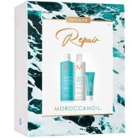 Moroccanoil Infinite Repair Spring Kit 2021 (Moisture Repair Shampoo 250ml, Moisture Repair Conditioner 250ml, Mending Infusion 20ml)